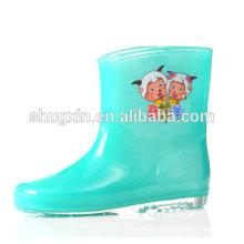 zapatos de los cabritos de bota de lluvia sexy venta por mayor C-705
