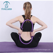 wholesale high quality gym fitness pilates ring circle and ball set resistance bands