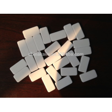 Blank domino blocks