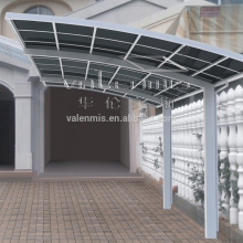2016 best price polycarbonate retractable car awning