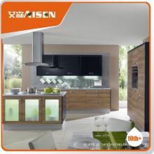 Bom serviço de design de armário de cozinha de melamina simples
