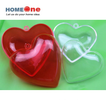 Heart Shape Plastic Candy Container