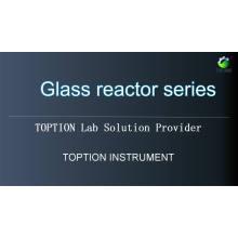 Venda quente 20l 50l 100l Reator De Vidro Revestido