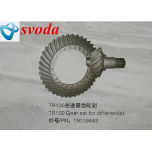 erex TR100 덤프 트럭 15019463 Steeering Spiral Bevel Gear