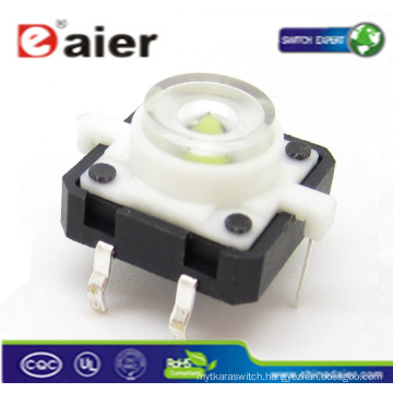 led touch button switches; mini led light push button; thin button switches