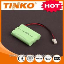 Nova bateria recarregável Ni-mh AAA800MAH