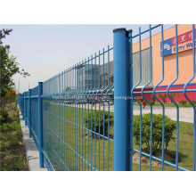 Park Fence-Beautiful PVC Coated Welded Wire Mesh Fence