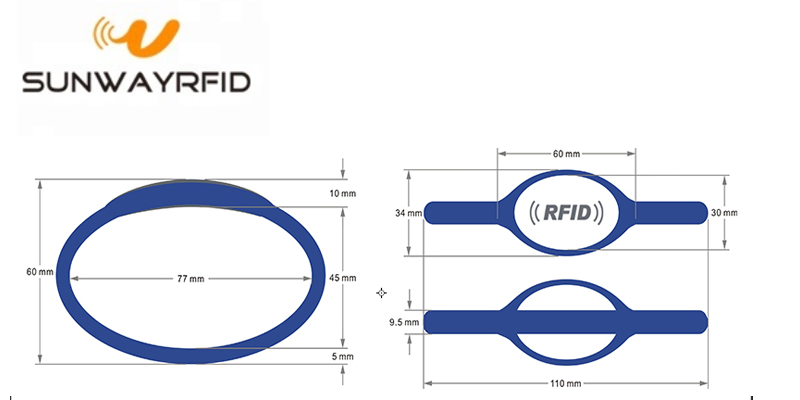 personalised wristband RFID