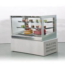 Equipamento de refrigeração do armário de exposição da padaria