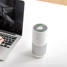 2020 New Arrivals Pm2.5 Smoke Air Cleaner Room Office Car Ionizer Ions Ture HEPA Carbon Filter Portable Mini USB Air Purifier