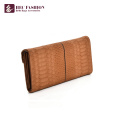 HEC Promotional Lady Purses PVC PU Leather Wallet For Girls