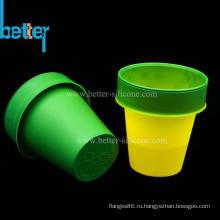 Изготовленная на заказ термохромная чашка из силиконовой резины
