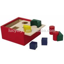 Hölzerne Form Sortierung Block Box mit hoher Qualität und niedrigen Preis