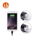Lampe de poche à DEL T6 rechargeable avec 3 modes de zoom USB