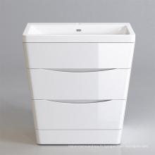 Armoire de salle de bain flottante mdf de bonne qualité