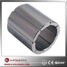 Buy N50 Axial D50X10MM Neodymium Arc Magnet Supplier China