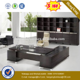 Lecong melamine office furniture Europe design office desk(HX-6M028)