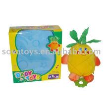 913990735-baby sino brinquedo de frutas de pelúcia abacaxi