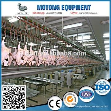 Equipo de matanza de pollo avícola BPH de 5000 aves en China para granja de pollos de engorde