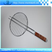 Engranzamento de fio de aço inoxidável do assado usado para o piquenique