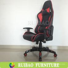 Cadeira de jogo de cadeira de corrida executiva mais popular com suporte de madeira confortável e estrutura interna de metal