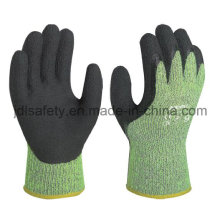 Anti-Cut Terry Work Glove with Latex Dipping (LY3050)