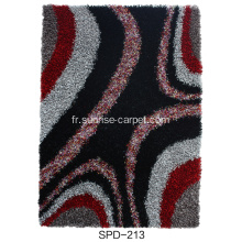 Viscose Shaggy avec tapis design de mode