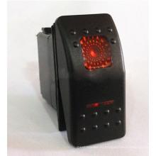 Красочный светодиодные Карлинг типа 12V 24V авто/ морской перекидной переключатель
