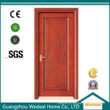 Nós podemos personalizar a porta não padrão de madeira!