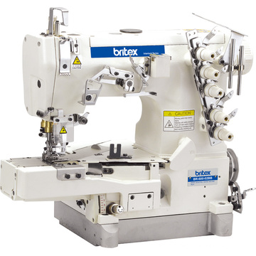 Br-600-02bb High Speed Cylinder-Bed Interlock Sewing Machine with Tape Bilding (edge rolling)
