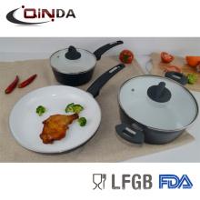 Juegos de utensilios de cocina de cerámica 5pcs alemania