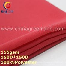Tela 100% del telar jacquar de la gasa del poliéster para la materia textil de la mujer (GLLML344)