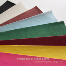 2016 fashion popular hot wholeseal fancy paper flocking stickers with flocking insert