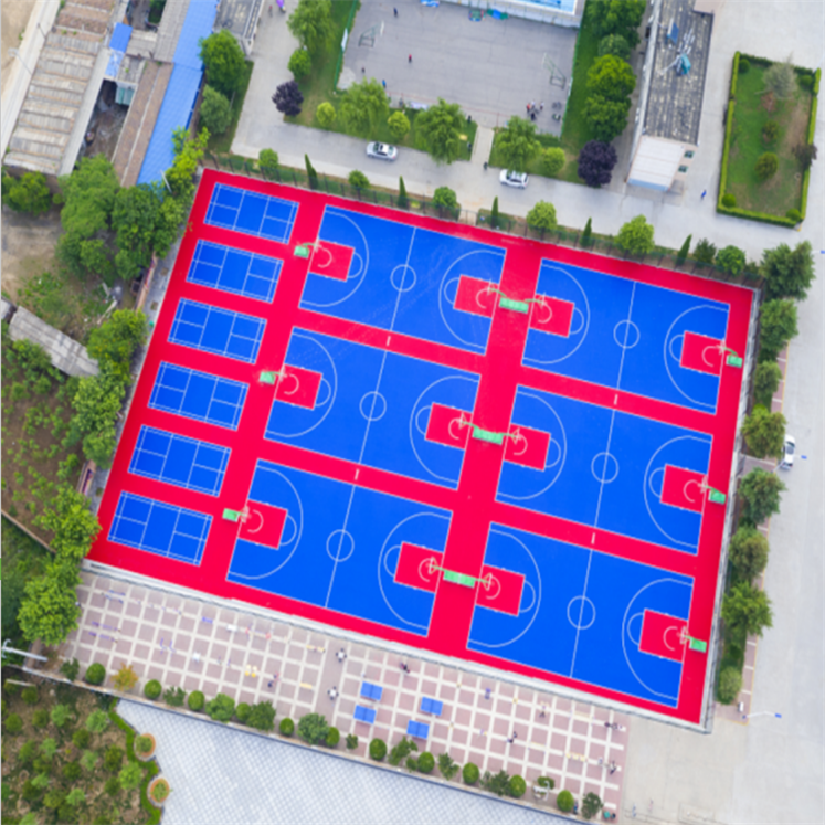 Outdoor Modular Court Tile 10