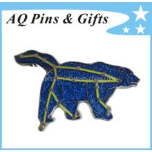 Emballage en métal Emblem Emballage en usine comme cadeau promotionnel (badge-012)