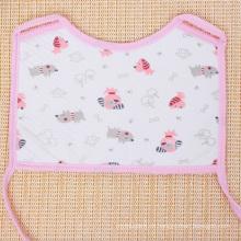 Babero cuadrado estampado encantador de algodón suave para bebé