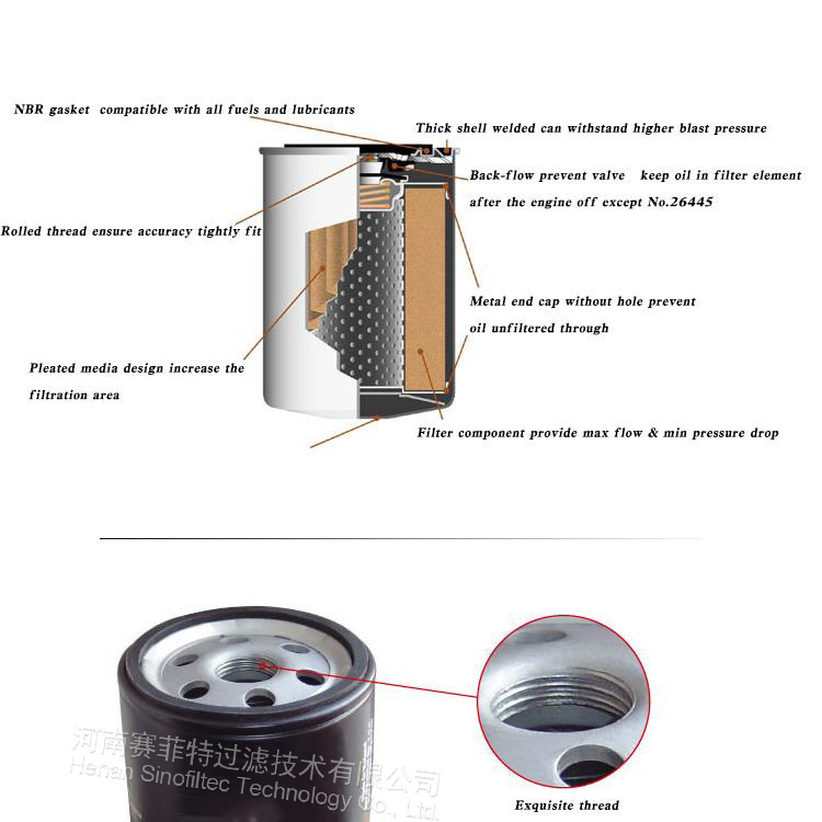 atlas copco air compressor oil filter