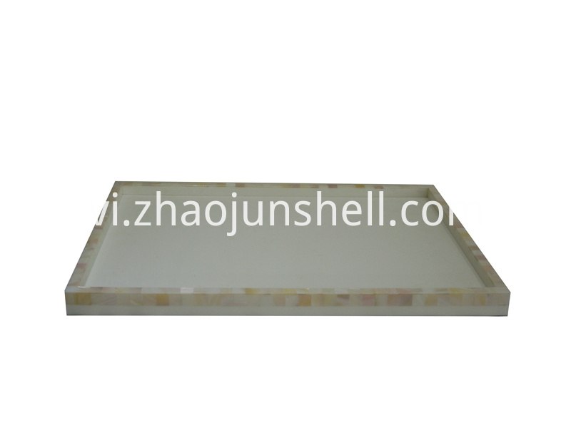 Chinese river shell tray