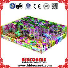 Playground Indoor macio do PVC para o centro de envio