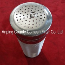 304 Stainless Steel Liquid Filters Cylinder