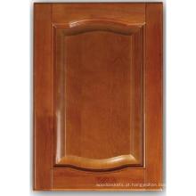 Porta de armário de cozinha de madeira sólida (HLsw-7)