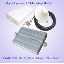 Mobile Signal Repeater 2g 3G Dual Band 900 2100MHz GSM WCDMA Mobile Phone Signal Booster