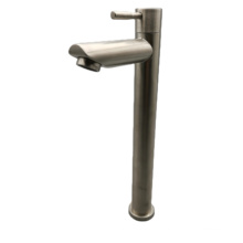 Brushed Nickel Pull out Kitchen Faucet,Single Level Stainless Steel Kitchen Sink Faucets