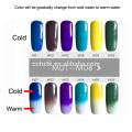 Pigmentos termocrômicos mudança de cor pigmento com temperatura pigmentos de cor sensível ao calor