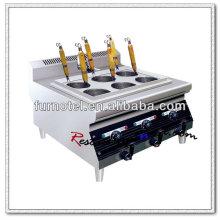 K455 Cuiseur électrique de pâtes de comptoir d'acier inoxydable