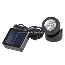 Luz de proyección de ahorro de energía a prueba de agua solar al aire libre