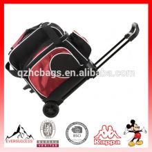 Bolso de bolos de la bolsa de asas de la bola de la alta calidad con las ruedas