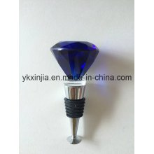 Kitchenware Wholesale Unique Glass Wine Stopper, Metal Bottle Stopper