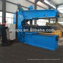 Máquina de hilar con cabeza CNC / máquina Shuipo con forma de plato CNC