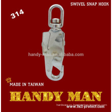 314 Steel Chrome Plated Swivel Snap Hook